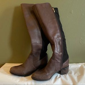 Vince Camuto Leather Boots Brown Size 7M
